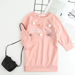 Other - Dance Sweatshirt Dress Pink